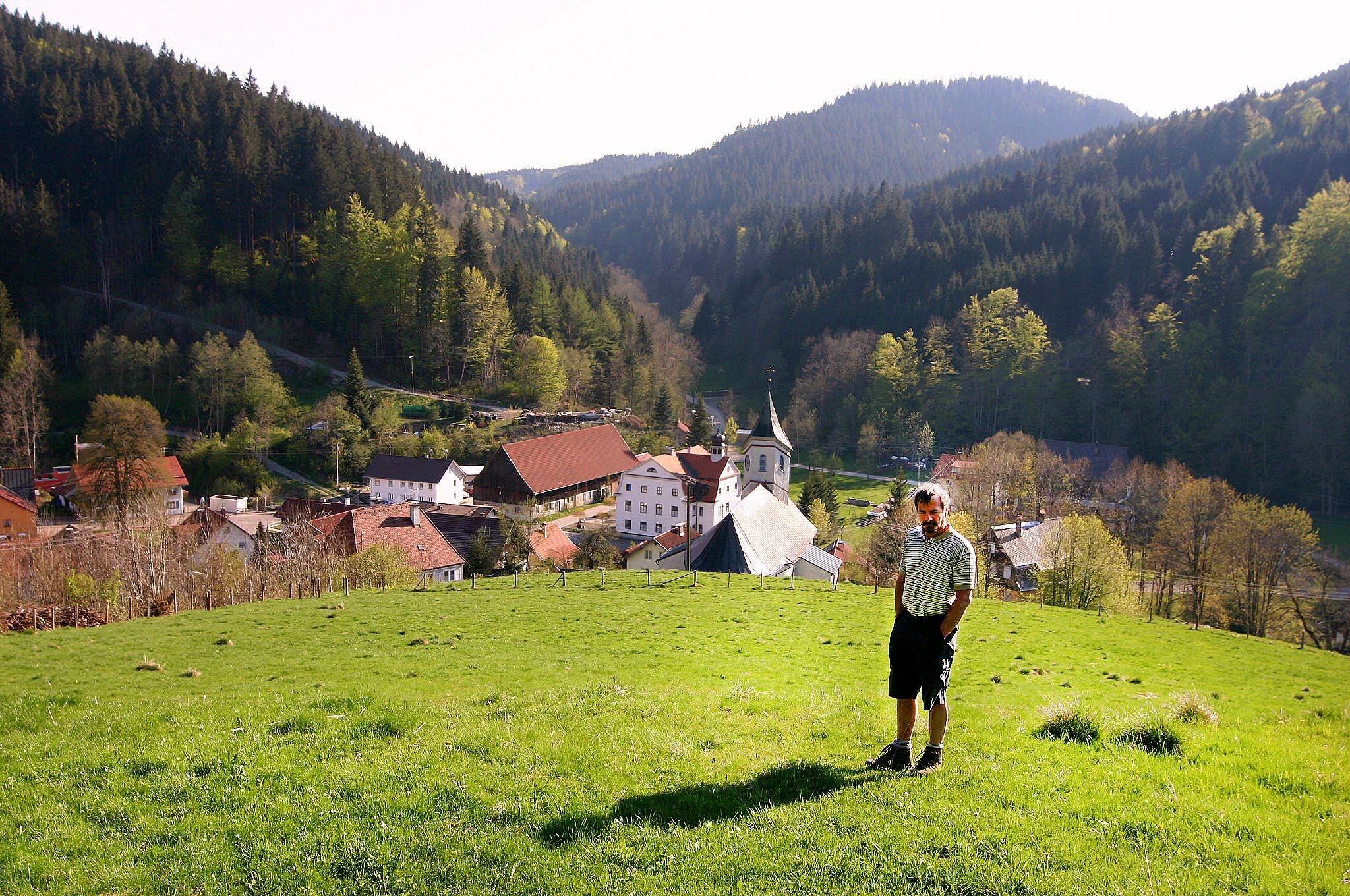 Rudi Holzberger im Kreuzthal